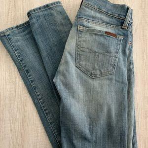 Ralph Lauren Light-wash Skinny Jeans